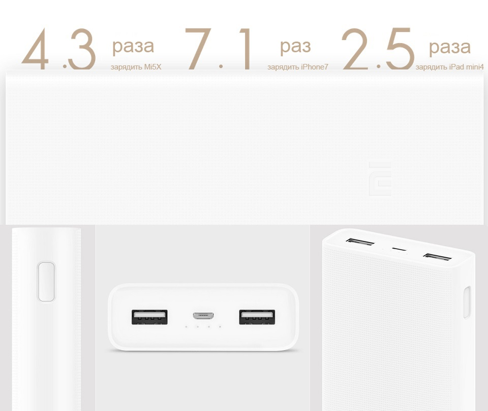 Mi Power Bank 2C
